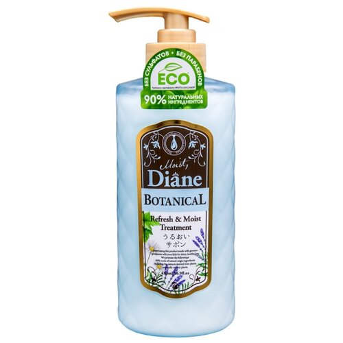 Купить Moist Diane средство для волос Botanical Refresh & Moist Treatment, 480 мл
