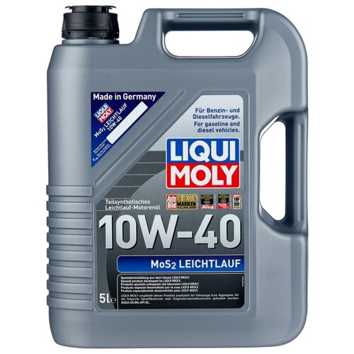 цена на Моторное масло LIQUI MOLY MoS2 Leichtlauf 10W-40 5 л
