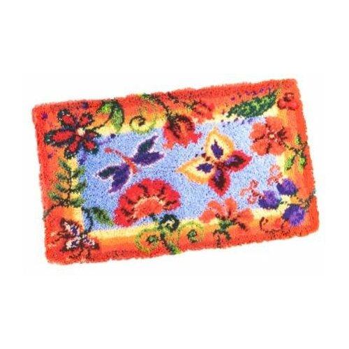 Купить Vervaco Набор для вышивания Декоративные цветы 65 x 40 см (0145323-PN), Наборы для вышивания