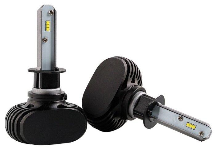 Лампа автомобильная светодиодная Vizant D5 цоколь H1 с чипом csp 2 шт.
