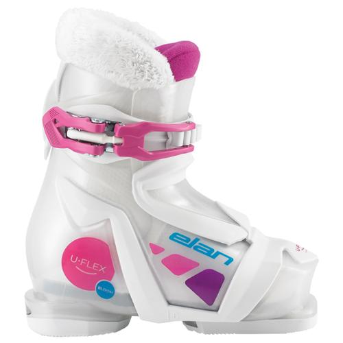 Ботинки для горных лыж Elan Bloom 1 18.5 (Elan) белый/розовый