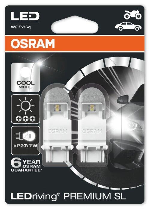Лампа автомобильная светодиодная Osram Premium SL 3557CW