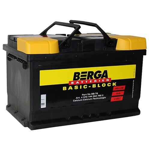 Автомобильный аккумулятор Berga BB-T6