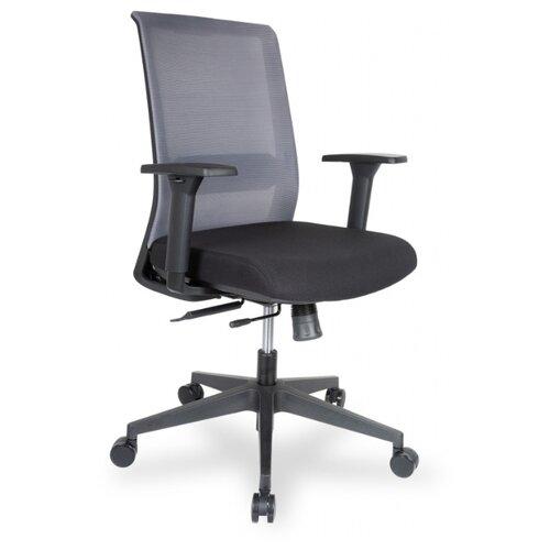 Компьютерное кресло College CLG-429 MBN-B офисное, обивка: текстиль, цвет: серый/черный компьютерное кресло college clg 619 mxh b офисное обивка текстиль цвет бежевый