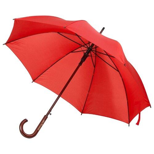 Зонт-трость полуавтомат Unit Standard (393) красный