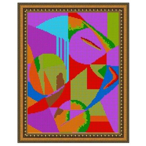 Светлица набор для вышивания бисером Абстракция Кандинского 24 х 30 см, бисер Чехия (558П)