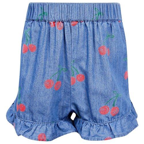 бюстгальтер stella mccartney underwear stella mccartney underwear st056ewghfq0 Шорты Stella McCartney размер 74, голубой/принт вишня