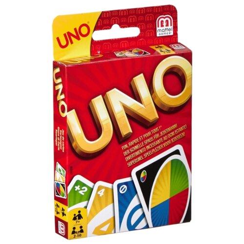 Купить Настольная игра Mattel Uno W2087, Настольные игры