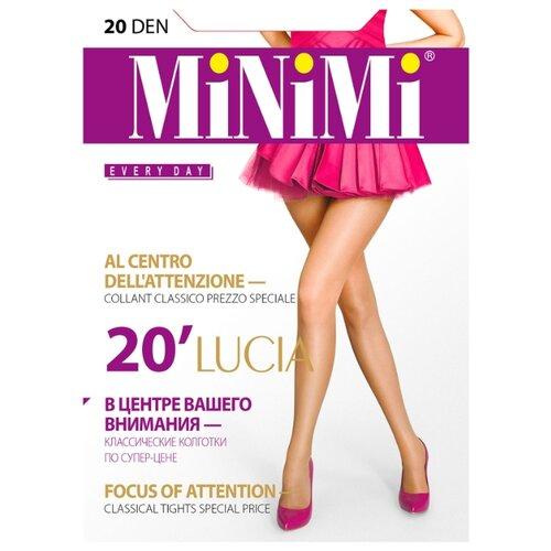 Колготки MiNiMi Lucia 20 den, размер 4-L, daino (бежевый) колготки minimi elegante 40 den размер 4 l daino бежевый