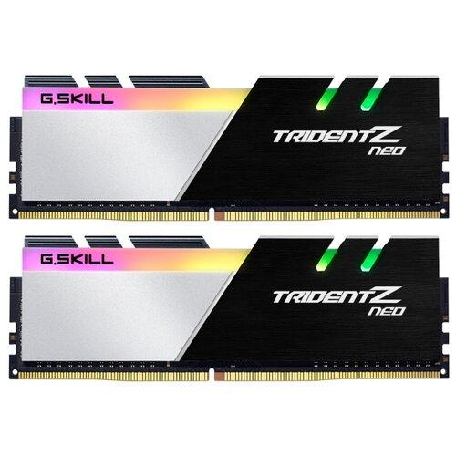 Оперативная память G.SKILL Trident Z Neo DDR4 3600 (PC 28800) DIMM 288 pin, 16 ГБ 2 шт. 1.35 В, CL 16, F4-3600C16D-32GTZNC