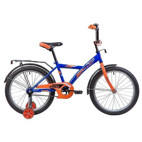 Детский велосипед Novatrack Astra 20 (2019) синий (требует финальной сборки)