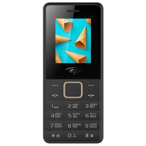 Телефон Itel it2160 черный мобильный телефон itel it2160 ds black черный