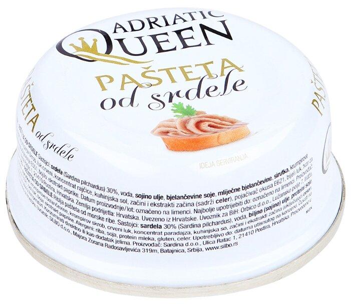 Паштет Adriatic Queen из сардины 95 г