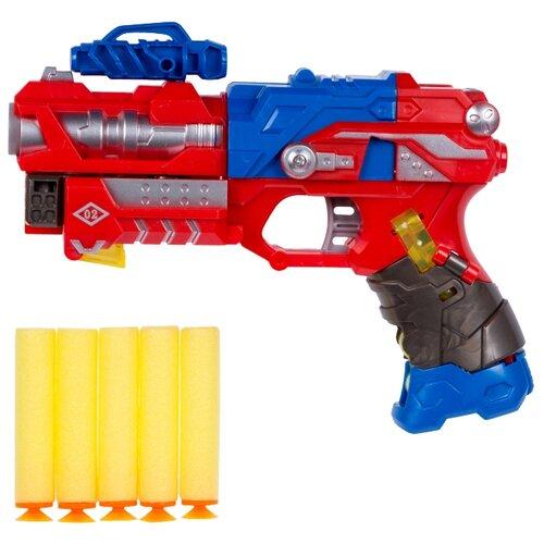 Трансформер 1 TOY Трансботы Звездный арсенал - Плазмобот Т16333 красный/синий/черный трансформер 1 toy звездный защитник космолет красный черный