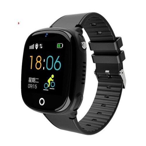 Детские умные часы c GPS Smart Baby Watch HW11 черный детские умные часы smart baby watch q80 желтый