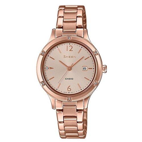 цена Наручные часы CASIO SHE-4533PG-4A онлайн в 2017 году