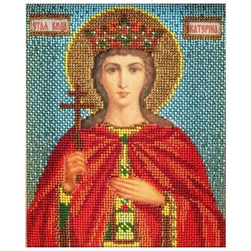Купить Радуга бисера Набор для вышивания бисером Св. Екатерина 12 х 14.5 см (В-315), Наборы для вышивания