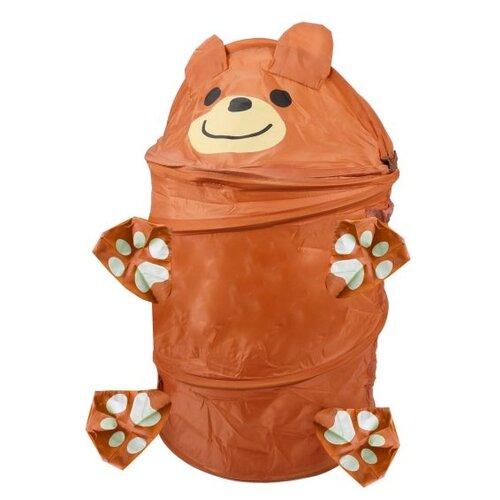 Корзина Shantou Gepai Мишка (636010) коричневый робот shantou gepai rugops rs6131 коричневый черный