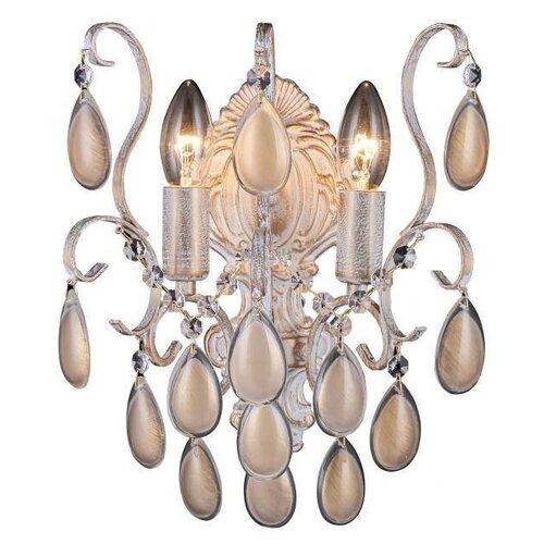 Настенный светильник Crystal Lux Sevilia AP2 Gold, 80 Вт недорого
