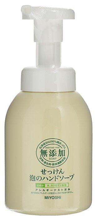 Пенное мыло Miyoshi на основе натуральных компонентов