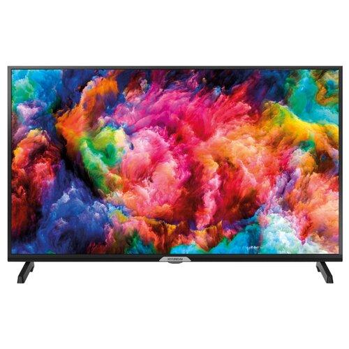 Фото - Телевизор Hyundai H-LED40ES5004 40 (2019) черный/серебристый телевизор hyundai 40 h led40et3000 metal черный
