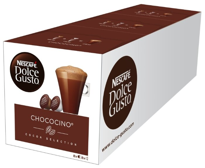 Набор для приготовления горячего шоколада Nescafe Dolce Gusto Chococino (48 капс.)