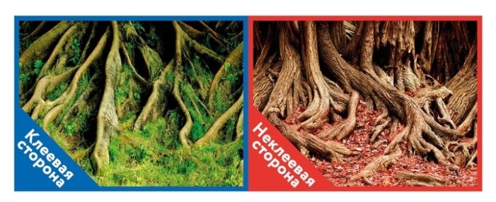 Пленочный фон Prime Корни с мохом/Корни с листьями двухсторонний