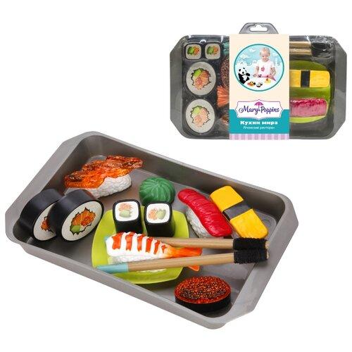 цена Набор продуктов с посудой Mary Poppins Японский ресторан 453139 в ассортименте онлайн в 2017 году