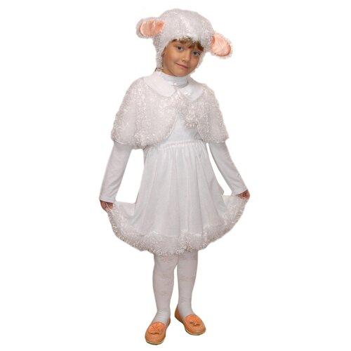Купить Костюм Elite CLASSIC Белая овечка, белый, размер 30 (122), Карнавальные костюмы