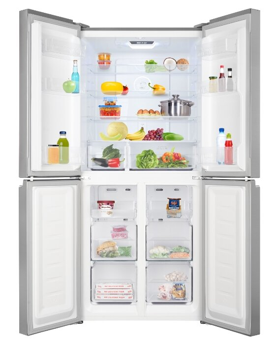 Холодильник Weissgauff WCD 486 NFB — купить по выгодной цене на Яндекс.Маркете
