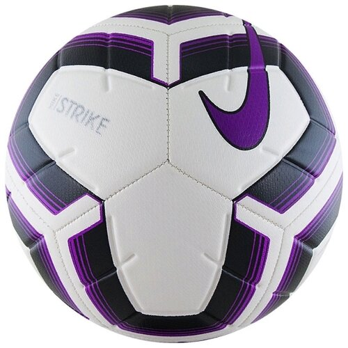 Футбольный мяч NIKE Strike Team IMS SC3535 белый/черный/фиолетовый 5 футбольный мяч nike strike pro team fifa sc3539 101