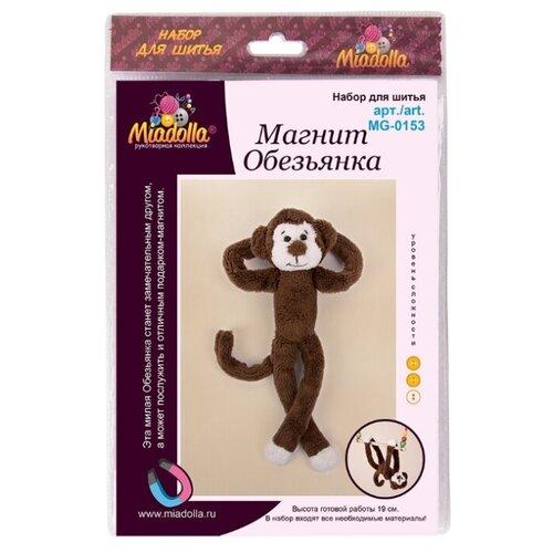 Купить Miadolla Набор для изготовления игрушки Магнит Обезьянка (MG-0153), Изготовление кукол и игрушек