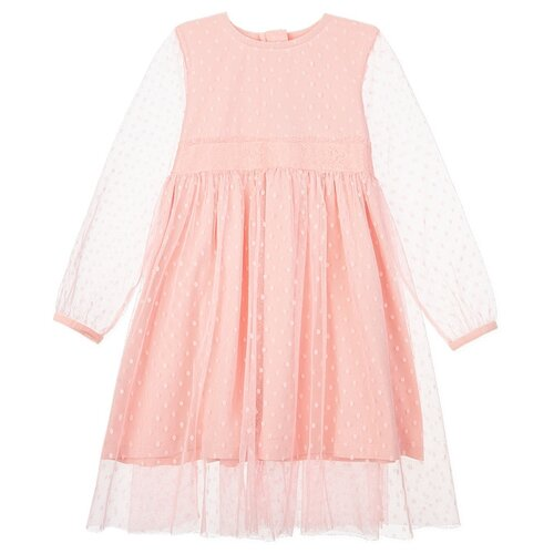 Купить Платье playToday размер 110, розовый, Платья и сарафаны