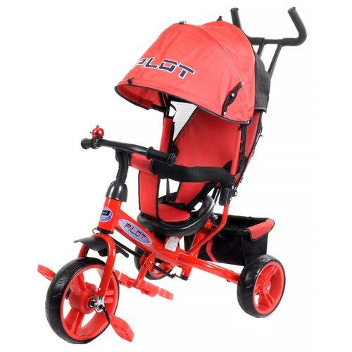 Трехколесный велосипед Pilot PT3 красный трехколесный велосипед pilot pta3 2019 красный