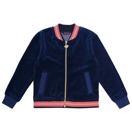 Купить Олимпийка Chinzari размер 122/128, темно-синий, Толстовки