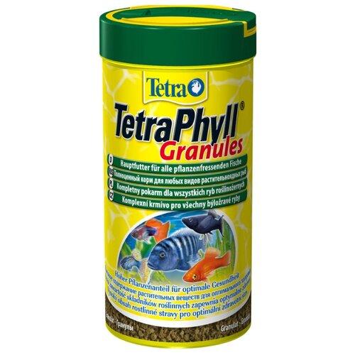 Сухой корм для рыб Tetra Phyll Granules 250 мл сухой корм для рыб tetra marine xl granules 250 мл