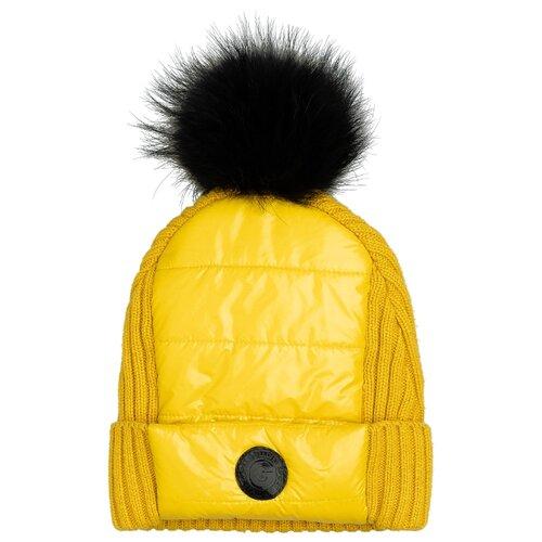 Купить Шапка Gulliver размер 58, желтый, Головные уборы