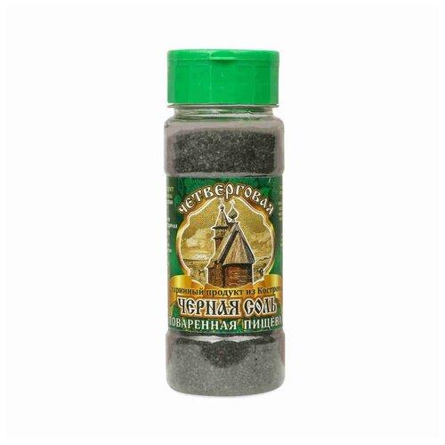 Соло-Ко Соль поваренная пищевая Четверговая черная, 140 г чеснок соло 250 г