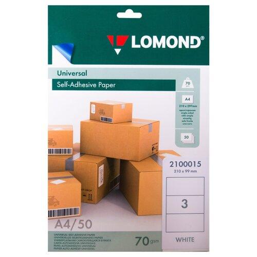 Фото - Бумага Lomond A4 2100015 70 г/м² 50 лист. белый 1 шт. бумага lomond a4 2100165 70 г м² 50 лист белый 1 шт