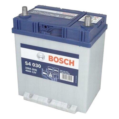 цена на Автомобильный аккумулятор Bosch S4 030 (0 092 S40 300)