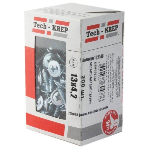 Саморез Tech-KREP 102148 4.2x13 200 шт саморез tech krep 102123 3 8x41 200 шт