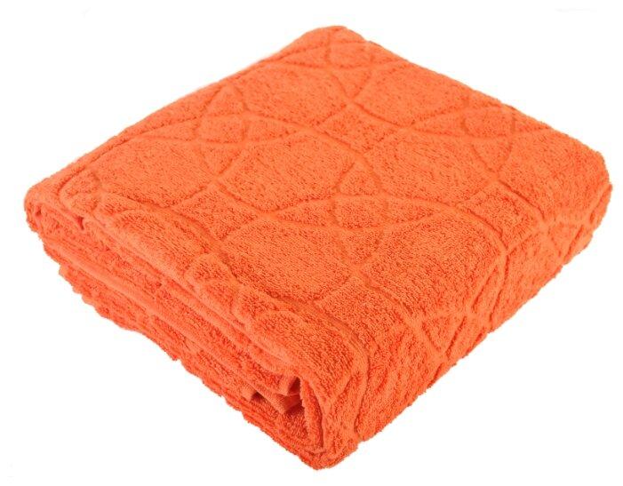 Стоит ли покупать Полотенце махровое Махровый МИР банное 70х140см оранжевый - 4 отзыва на Яндекс.Маркете (бывший Беру)
