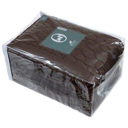 цена Покрывало Luxberry Stone, 220 х 240 см, шоколадный онлайн в 2017 году