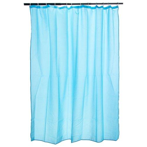 Штора для ванной Vetta 461-451/452/453 180х180 голубой