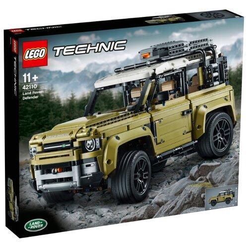 Купить Конструктор LEGO Technic 42110 Land Rover Defender, Конструкторы