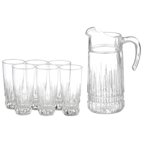Набор Luminarc Imperator кувшин + стаканы прозрачный