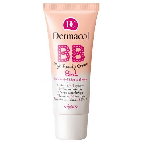 Dermacol BB Magic Beauty крем мультиактивный для красоты кожи 8в1 SPF15 30 г, SPF 15, 30 г, оттенок: 1 fair