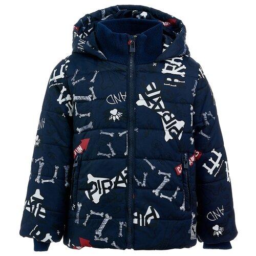 Купить Куртка Button Blue 219BBBC41041021 размер 134, синий, Куртки и пуховики