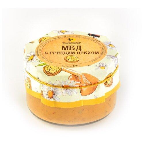 Крем-мед Мед и Конфитюр Русский стиль с грецкими орехами 230 г ахматова а дикий мед