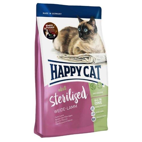 Корм для стерилизованных кошек Happy Cat Supreme с ягненком 4 кг